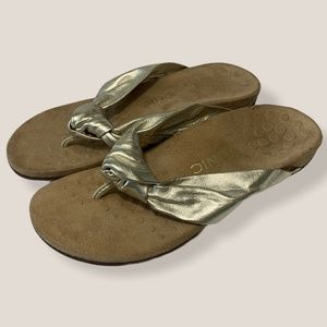 Vionic Pippa Knotted Orthotic Sandal Flip Flop